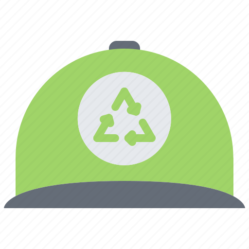 Cap, eco, ecology, green, nature, recycling, volunteer icon - Download on Iconfinder