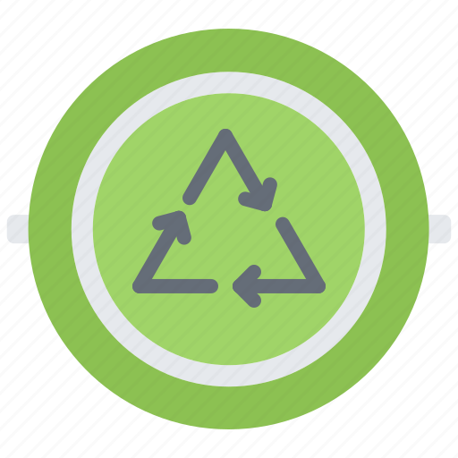 Badge, eco, ecology, green, nature, pin, recycling icon - Download on Iconfinder