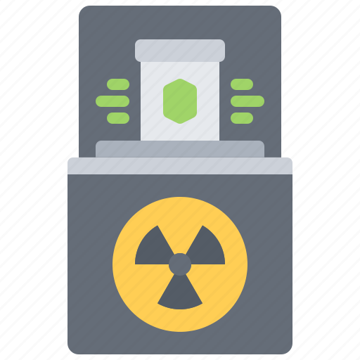 Box, eco, ecology, green, nature, radiation, radioactive icon - Download on Iconfinder