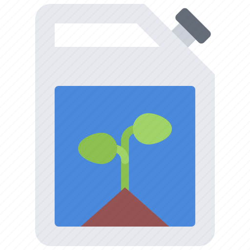 canister, eco, ecology, fuel, green, nature, plant icon
