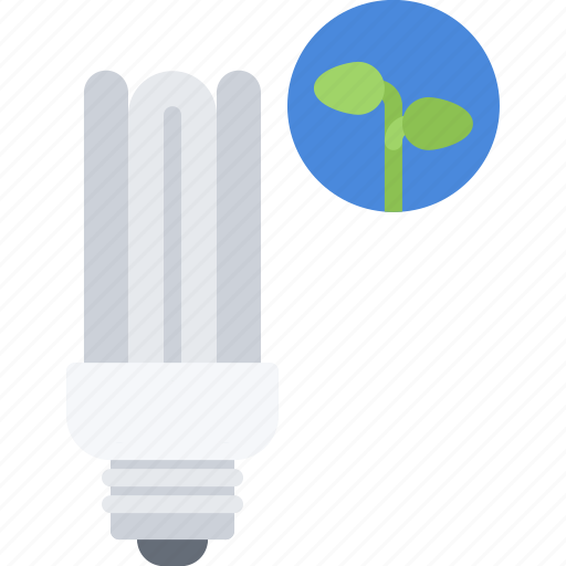 Eco, ecology, energy, green, light, nature, saving icon - Download on Iconfinder