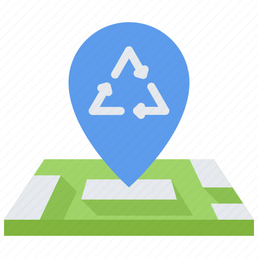 Eco, ecology, green, location, map, nature, pin icon - Download on Iconfinder