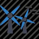 power, turbine, wind icon