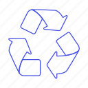 awareness, ecology, environmental, recycle, recycling, sustainability, symbol icon