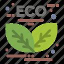 energy, green, leaf icon