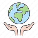earth, ecology, hand, hands, planet, save