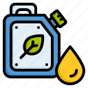 biofuel, biological fuel, eco fuel, oil icon