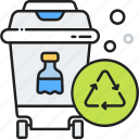 bottle, eco, ecology, glass, recycle, recycling icon