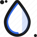 drop, droplet, tear, water icon