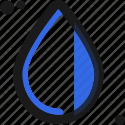 drop, droplet, tear, water icon
