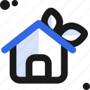 ecology, home, house, lift icon