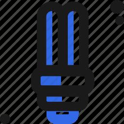 bulb, ecology, energy, fluorescent, light, save icon