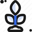cultivate, ecology, life, plant icon