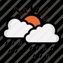 cloud, ecology, rain, weather, sky