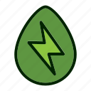 eco, ecology, energy, environment, green, nature icon