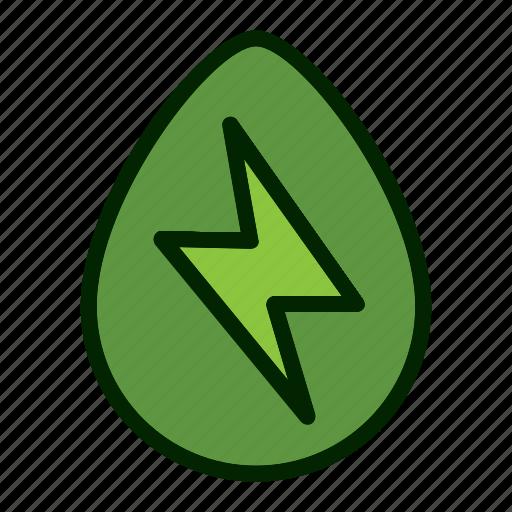 Ecology, nature, eco, energy, environment, green icon