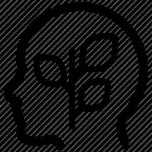 ecology, idea, thought icon