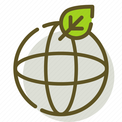Earth, leaf, nature, planet icon - Download on Iconfinder