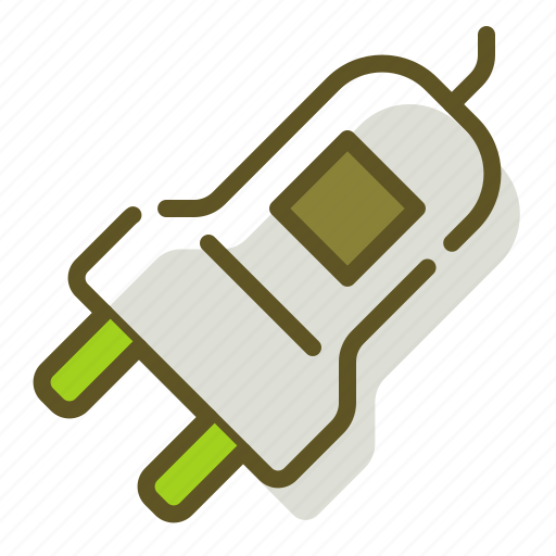 electric, electricity, plug icon