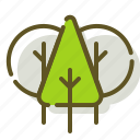 forest, nature, tree, trees icon