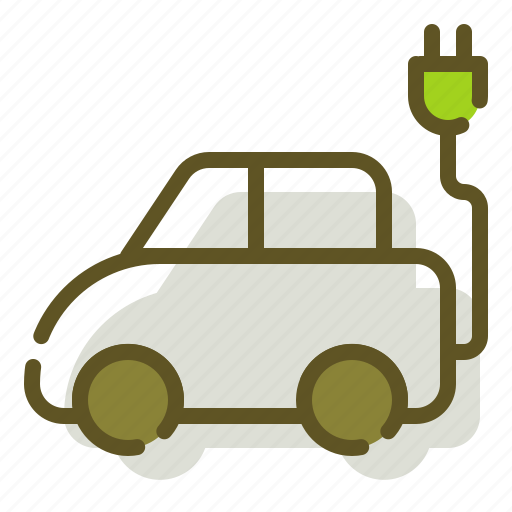 Car, electric, electricity, green icon - Download on Iconfinder
