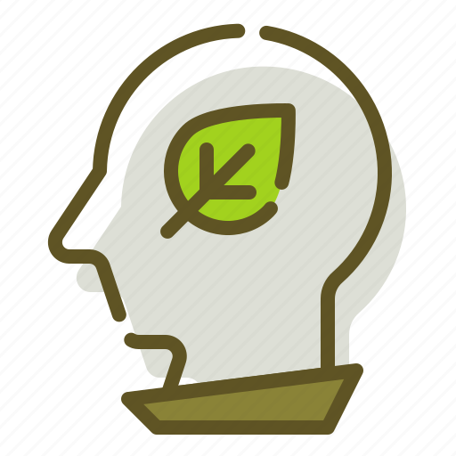 Green, plant, thinking, thought icon - Download on Iconfinder