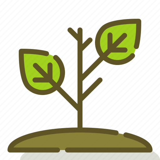 growing, nature, plant, sprout icon
