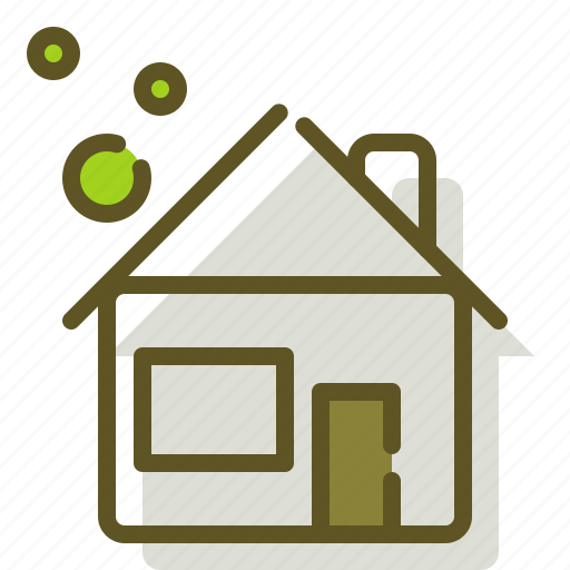Building, green, home, house icon - Download on Iconfinder