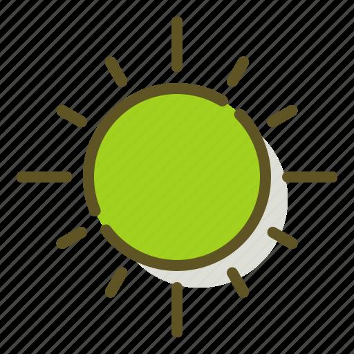solar, sun, sunny, weather icon
