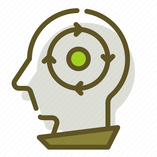 Recycle, target, thought icon - Download on Iconfinder