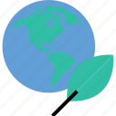earth, ecology, environment, leave, nature icon