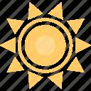ecology, environment, hot, nature, sun icon