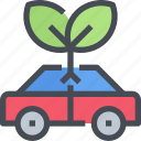 automobile, car, eco, transport, transportation, vehicle icon