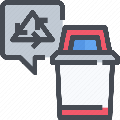 bin, ecology, environment, garbage, recycle, trash icon
