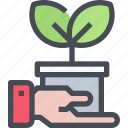 eco, ecology, energy, environment icon
