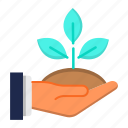 ecology, envirenment, go green, growth, plant icon