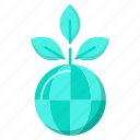 ecology, envirenment, global, go green icon