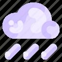 cloud, ecology, environmental, nature, rain icon