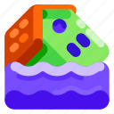 disaster, ecology, environmental, flood, nature icon