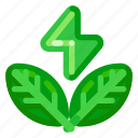 ecology, electricity, energy, environmental, green, nature icon