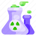 ecology, energy, environmental, nature, nuclear, power, station icon