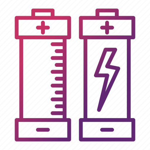 battery, ecology, electricity, energy, environment, power icon
