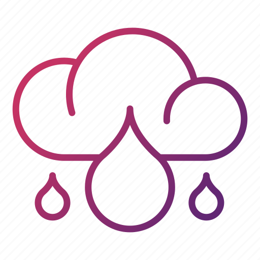 Cloudy, ecology, rainy, weather icon - Download on Iconfinder