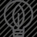 energy, green, idea, light bulb, power icon