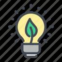 bulb, eco, ecology, energy, environment, nature, power icon