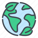 earth, eco, ecology, environment, leaf, nature, planet icon