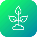 digging, ecofriendly, ecology, environment, leaf, nature icon