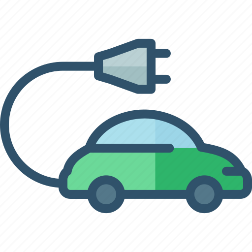 car, eco, electric, friendly, vehicle icon