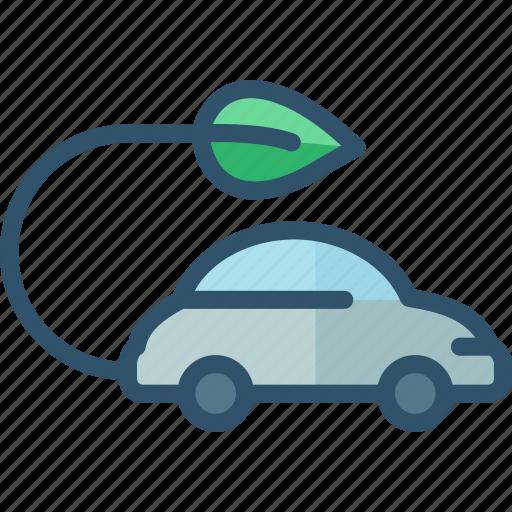 car, eco, friendly, green, vehicle icon