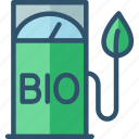 bio, biofuel, eco, fuel, gas, station icon